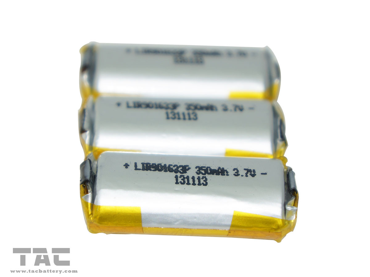 350mAh E-cig Big Battery 3.7V LIR08500P With CE / ROHS/BIS