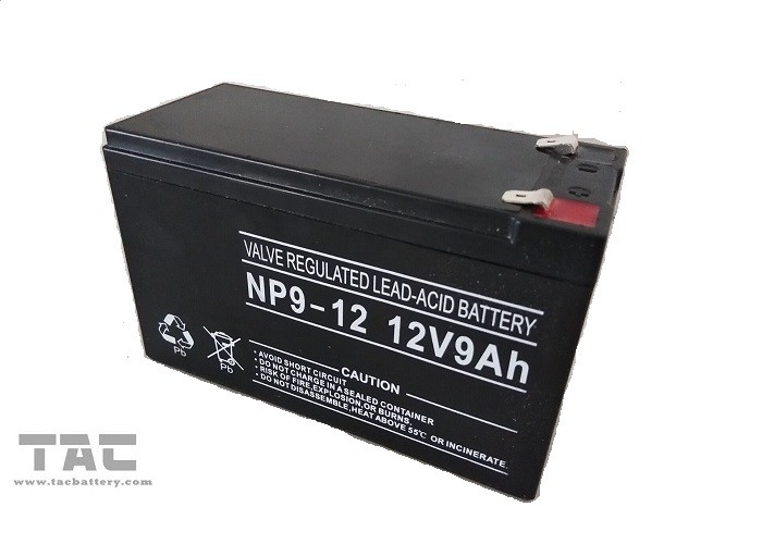 12V Battery Pack 12V 9.0ah Sealed Lead Acid Battery Pack For E Vehicle